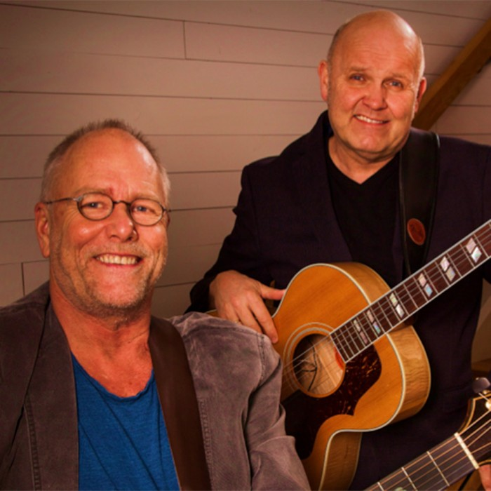 Guren og Lars Martin