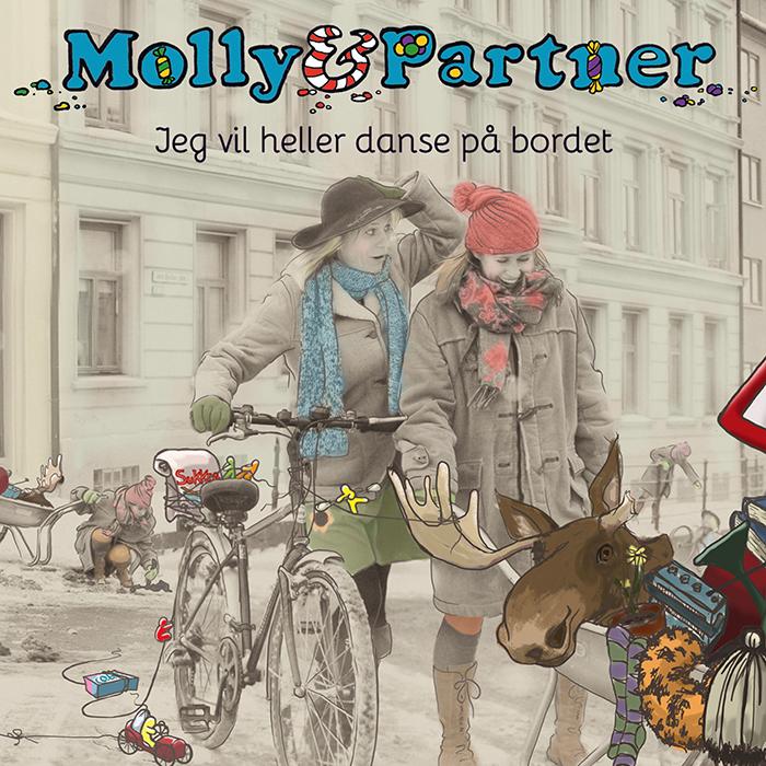 Molly & Partner | Jeg vil heller danse på bordet